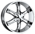 Vision Wheels <br>Hollywood 6 Chrome