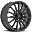 Focal Wheels<br /> 442SB F-15 Satin Black w/ Satin Clear-Coat