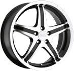 Milanni Wheels Kool Whip 5 Black