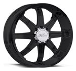 Milanni Wheels Kool Whip 8 Matte Black
