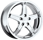 Milanni Wheels Kool Whip 5 Chrome