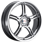 MSR Wheels <br>044 Chrome