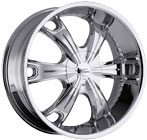 Milanni Wheels Stellar Chrome