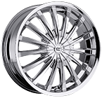 Vision Wheels <br>Shattered Chrome