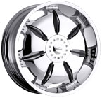 Milanni Wheels Paralyzer Chrome