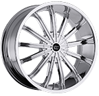 Vision Wheels <br>Xtacy Chrome