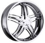 Milanni Wheels Force Chrome