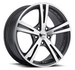 Vision Wheels <br>Xcite 463 Gunmetal Machine Face