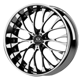Lorenzo Wheels<br /> WL27 Chrome