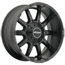 Pro Comp Wheels<br /> 5050 Satin Black