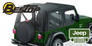 Bestop Replace-a-Top Soft Tops<br> 03-06 Jeep TJ