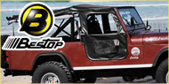 Bestop Jeep Tigertop™ Soft Top <br/>for CJ-5, 55-83 &amp; M-38A1