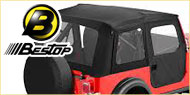 Bestop Supertop Soft Tops <br>76-83 Jeep CJ5