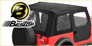 Bestop Supertop Soft Tops <br> 76-85 Jeep YJ &amp; CJ7