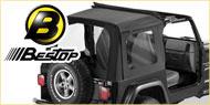 Bestop Sunrider Soft Tops <br>97-02 Jeep Wrangler TJ