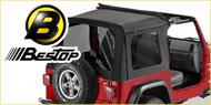 Bestop Sunrider Soft Tops <br>03-06 Jeep Wrangler TJ