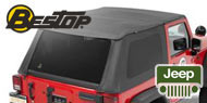 Bestop Trektop NX Soft Tops<br /> 07-17 Jeep JK