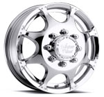 Vision Wheels <br>Crazy Eightz 715 Chrome