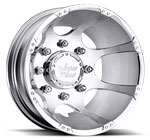 Vision Wheels <br>Crazy Eightz 715 Chrome Rear