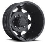 Vision Wheels <br>Crazy Eightz 715 Black Rear