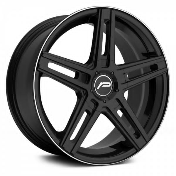Pacer Wheels<br /> 788B Tradition Gloss Black