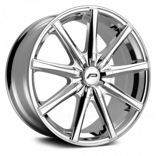 Pacer Wheels<br /> 789C Evolve Chrome