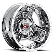 WORX Wheels Triad 801 Dually Rear <br/>Chrome