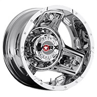 WORX Wheels Triad 801 Dually Rear <br/>Chrome