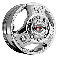 WORX Wheels Dually Triad 801 Front <br/>Chrome