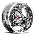 WORX Wheels Triad 801 Dually Rear Chrome