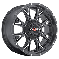 WORX Wheels Tyrant 805 <br/>Satin Black