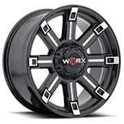 WORX Wheels Triton 806 <br/>BlackMilled