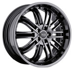 Prado Wheels Paladine 902 Phantom Black