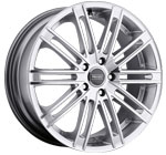 Prado Wheels Arcana 903 Hyper Silver Machined Face
