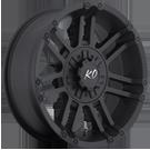 KO Offroad<br /> 990 Crusher Matte Black<br /> 5 Lug