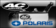 AC Racing </br> Polaris ATV Exhaust