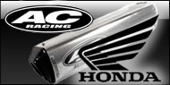AC Racing </br> Honda ATV Exhaust