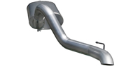 AFE Power MACH Force XP 3in Cat-Back SS-409 Exhaust System w/o Tip <br />97-06 Wrangler TJ