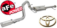 AFE Stainless Steel Exhausts <br> Toyota