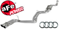 AFE Stainless Steel Exhausts <br> Audi