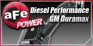 AFE GM Duramax Diesel