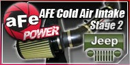 AFE Stage 2 Cold Air Intake Jeep
