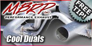 Diesel Cool Duals <br>MBRP Performance Exhaust