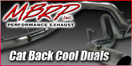 Dodge Cummins Diesel <br>Cat Back Cool Duals <br>MBRP Performance Exhaust