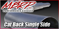 Dodge Cummins Diesel <br>Cat Back Single Side <br>MBRP Performance Exhaust