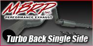 Dodge Cummins Diesel <br>Turbo Back Single Side <br>MBRP Performance Exhaust