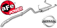 AFE Stainless Steel Exhausts <br> Nissan