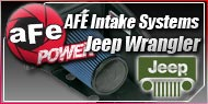 AFE Cold Air Intakes - Jeep Wrangler