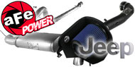 AFE Scorpion Package<br /> Jeep Wrangler