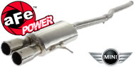 AFE Stainless Steel Exhausts <br> Mini